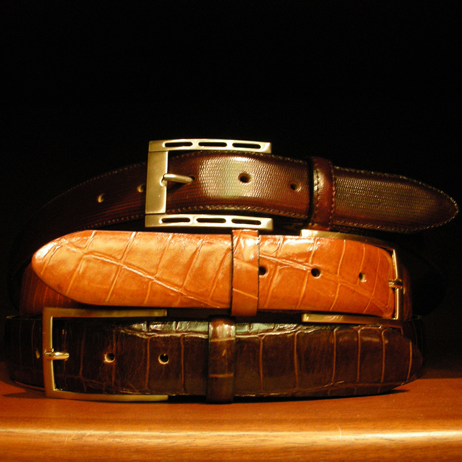 belts for custom suits