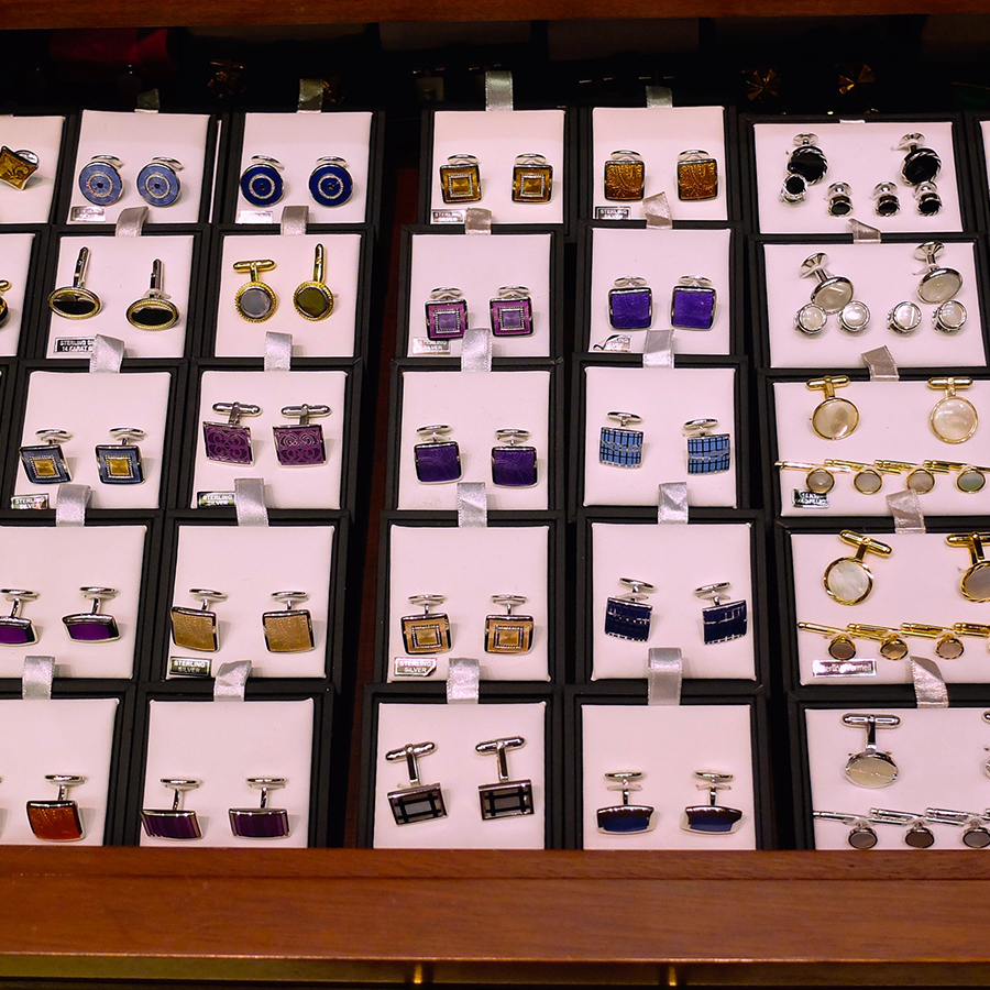 Cufflinks for Made to measure suits