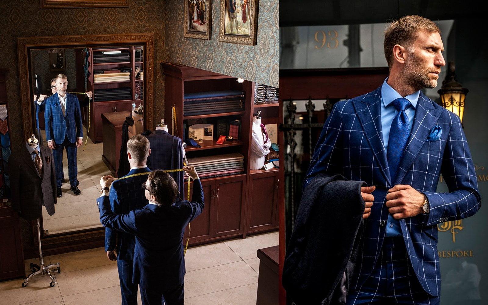 Bespoke Suits Toronto Made to Order - John Ferrigamo Custom